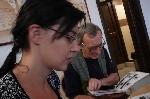 Laura şi Petru Poantă Sibiu 2011 _ http://www.laurapoanta.ro/Poze/carti/Cu_laura_Poanta_la_Sibiu_2011.jpg