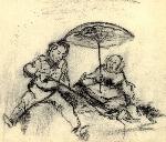 crochiu - picnic a la Daumier _ http://www.laurapoanta.ro/Poze/carti/crochiu_-_picnic_dupa_Daumier.jpg